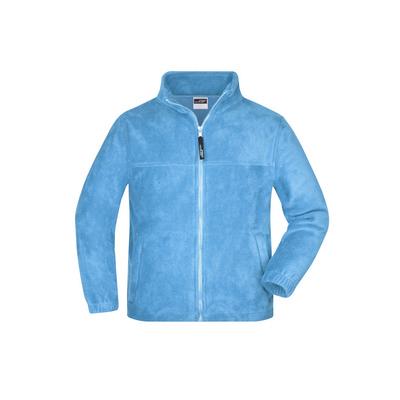 James & Nicholson Full-Zip Fleece Junior