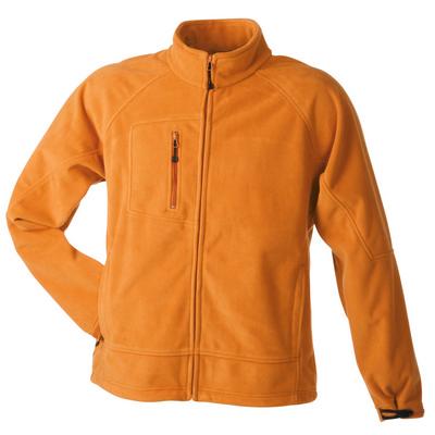 James & Nicholson Menâ??s Bonded Fleece Jacket
