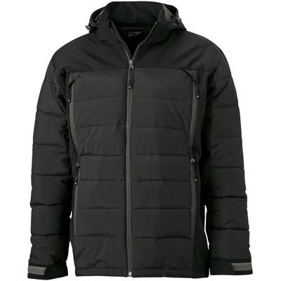 James & Nicholson Mens Outdoor Hybrid Jacket