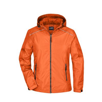 James & Nicholson Ladies Rain Jacket