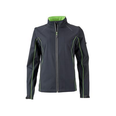 James & Nicholson Ladies Zip-Off Softshell Jacket