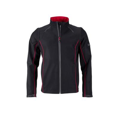 James & Nicholson Mens Zip-Off Softshell Jacket