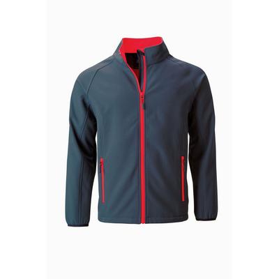 James & Nicholson Mens Promo Softshell Jacket