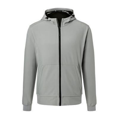 James & Nicholson Mens Hooded Softshell Jacket