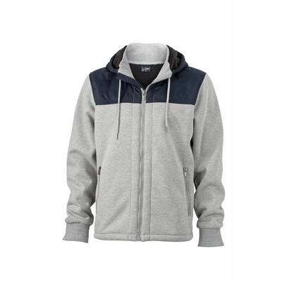 James & Nicholson Mens Jacket Teddy Lined
