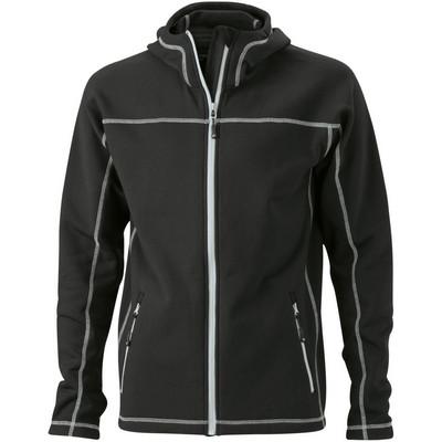 James & Nicholson Mens Stretchfleece Jacket