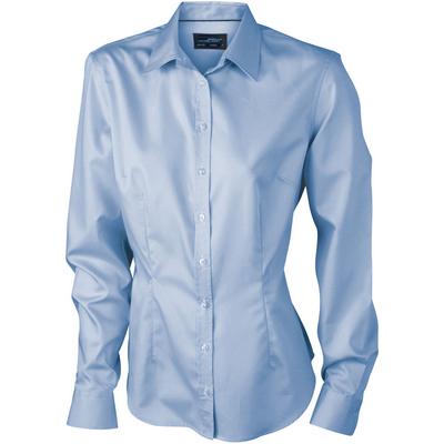 James & Nicholson Ladies Long-Sleeved Blouse
