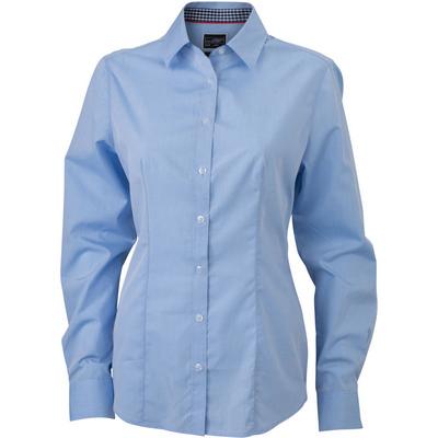 James & Nicholson Ladies Plain Shirt