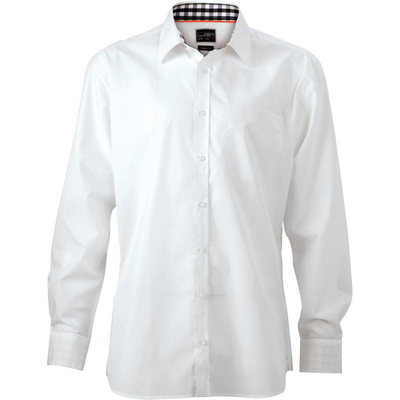 James & Nicholson Mens Plain Shirt