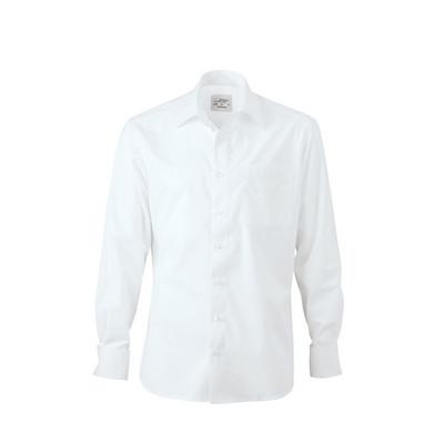 """James & Nicholson Mens Shirt """"KENT"""", for Cufflinks"""