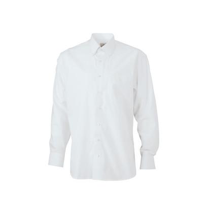 """James & Nicholson Mens Shirt """"BUTTON DOWN"""""""