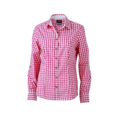 James & Nicholson Ladies Traditional Shirt