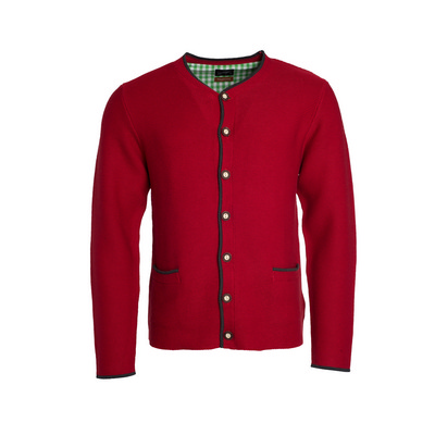 James & Nicholson Mens Traditional Knitted Jacket