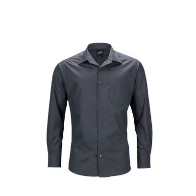 James & Nicholson Mens Business Shirt Long-Sleeved