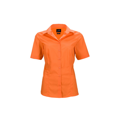 James & Nicholson Ladies Business Shirt Short-Slee