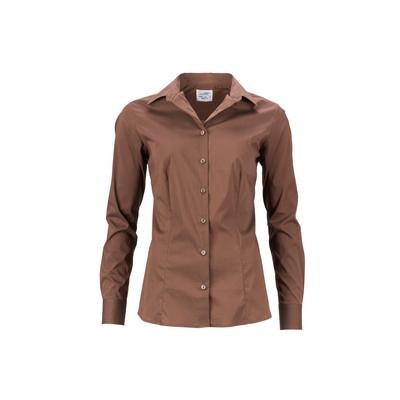 James & Nicholson Ladies`Shirt Slim Fit