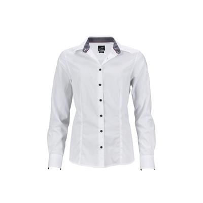 "James & Nicholson Ladies Shirt ""Plain"""