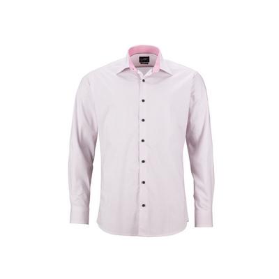 "James & Nicholson Mens Shirt ""Diamonds"""