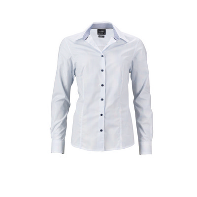 "James & Nicholson Ladies Shirt ""Dots"""