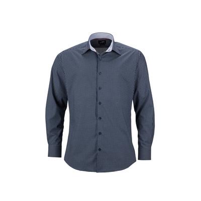 "James & Nicholson Mens Shirt ""Dots"""