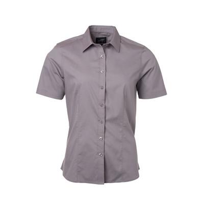 James & Nicholson Ladies Shirt Shortsleeve Poplin