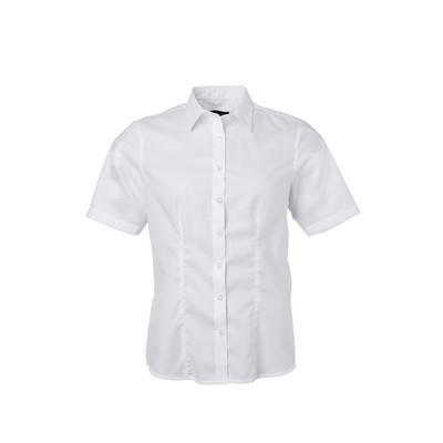 James & Nicholson Ladies Shirt Shortsleeve Micro-T
