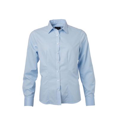 James & Nicholson Ladies Shirt Longsleeve Oxford