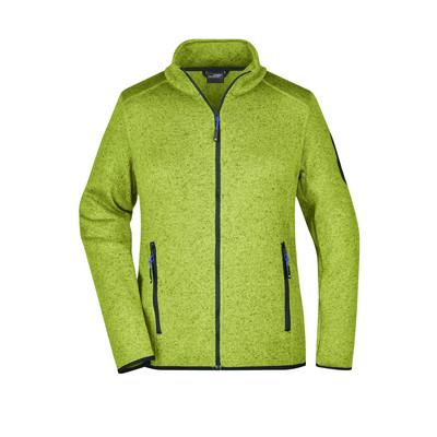 James & Nicholson Ladies Knitted Fleece Jacket