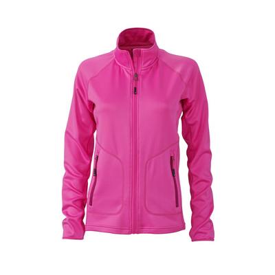 James & Nicholson Ladies Stretchfleece Jacket