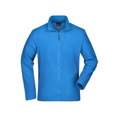James & Nicholson Mens Basic Fleece Jacket