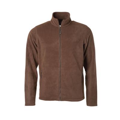 James & Nicholson Mens Fleece Jacket