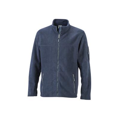 James & Nicholson Mens Workwear Fleece Jacket