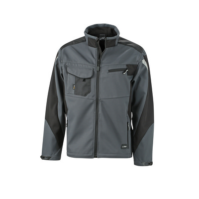 James & Nicholson Workwear Softshell Jacket