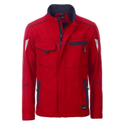 James & Nicholson Workwear Softshell Jacket-Level
