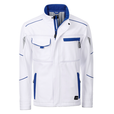 James & Nicholson Workwear Softshell Padded Jacke