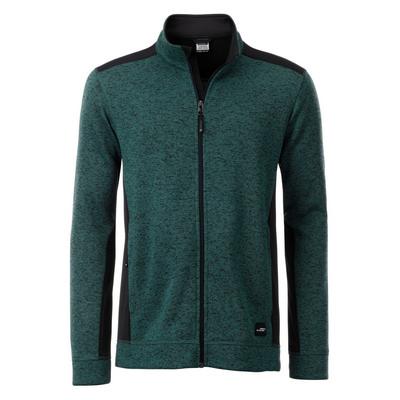 James & Nicholson Mens Knitted Workwear Fleece Ja