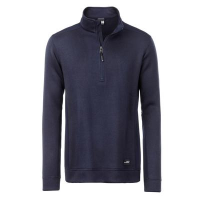 James & Nicholson Mens Knitted Workwear Fleece Hal
