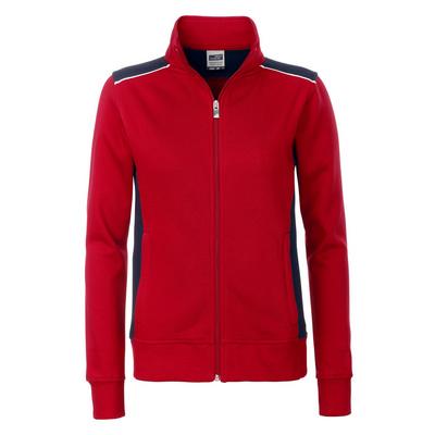 James & Nicholson Ladies Workwear Sweat Jacket-Le