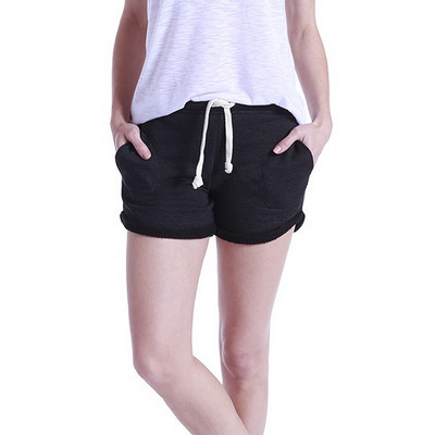 WOMENS CASUAL FRENCH TERRY SWEAT SHORTS
