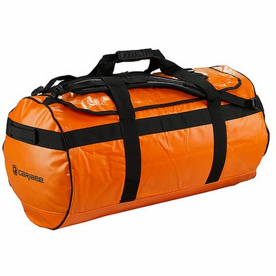 Caribee Kokoda 90L Hi Vis Wet Gear Roll Bag  (58073-HiVisO_CARI)