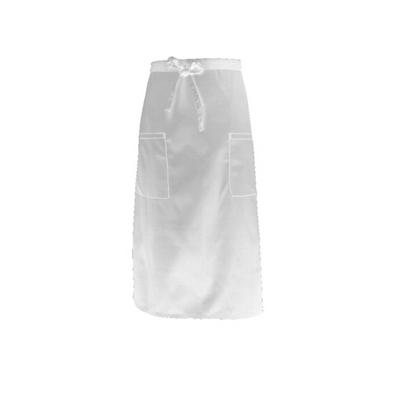 White Two Pocket 34 Apron