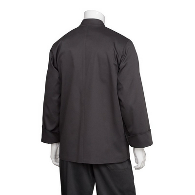 Bastille Black Basic Chef Jacket BAST_CHEF