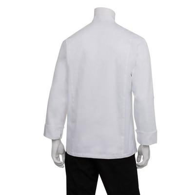Lansing Mens White Chef Jacket