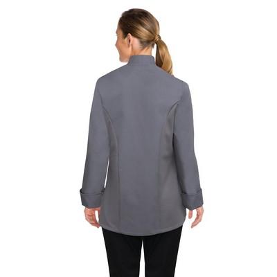 Lansing Womens Grey Chef Jacket