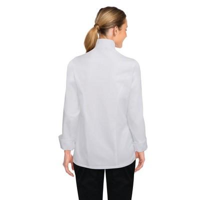 Lansing Womens White Chef Jacket