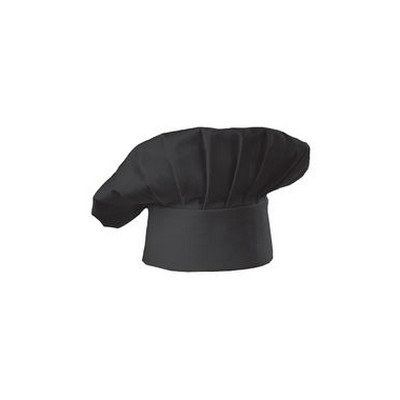 Black Traditional Chef Hat