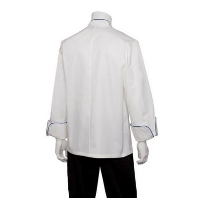 Bali White 100% Cotton Chef Jacket ECRI_CHEF