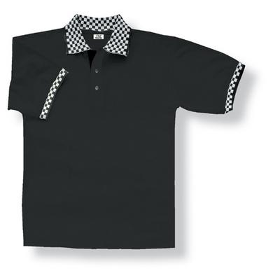 Traditional Black Polo Shirt
