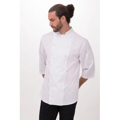 34 Sleeve White Chef Shirt S100-WHT_CHEF