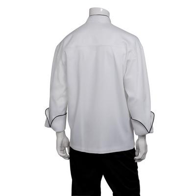 Sicily White Executive Chef Jacket